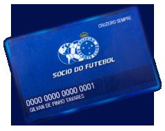 Sócio do Futebol - CruzeiroPédia . . A História do Cruzeiro Esporte ... 0112a8b010705